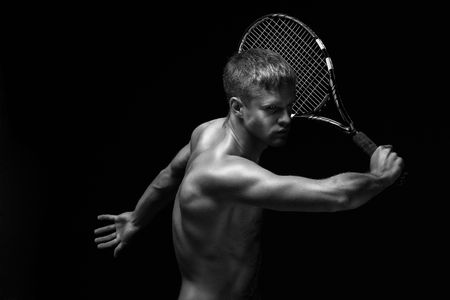handed: tennis player
