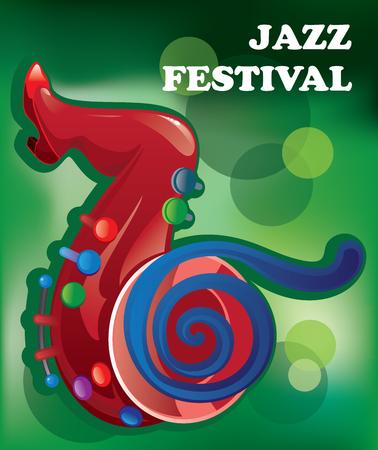 Creative conceptual music festival vector.