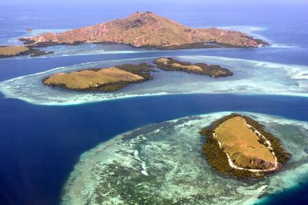 Komodo islands (Indonesia) Stock Photo