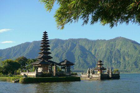 temple mount: Temple Ulun Danu Bratan on Bali