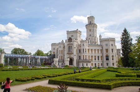 place of interest: Castle Hlubok and Vltavou