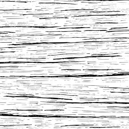 Abstract Wood Texture Background Hand Draw Line Black And White