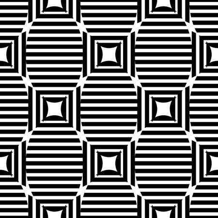 Abstract geometric pattern background. Black strip lines. Vector illustration.