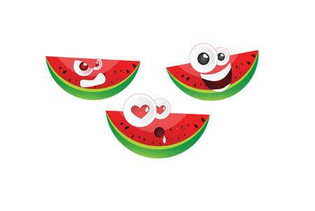 felling: Emoticon watermelon pack3