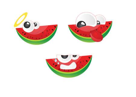felling: Emoticon watermelon