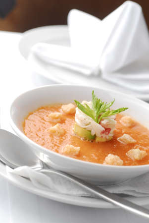 gazpacho soup Stock Photo