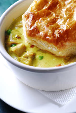 irish soup with a bread