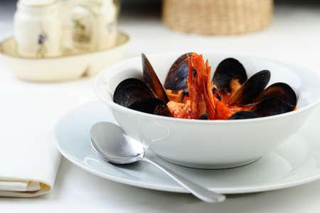 venetian soup Stock Photo