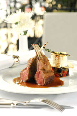 rib meat Stock Photo