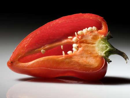 halved pepper
