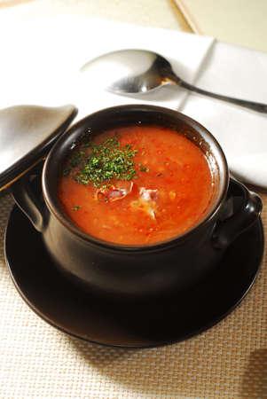ukrainian borscht Stock Photo