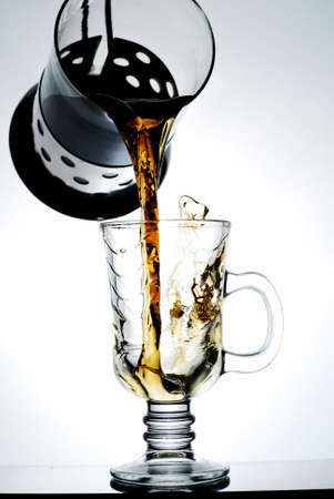 pouring tea photo