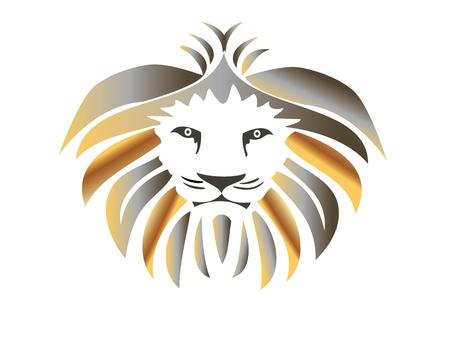 Koning Leeuw Stock Illustratie