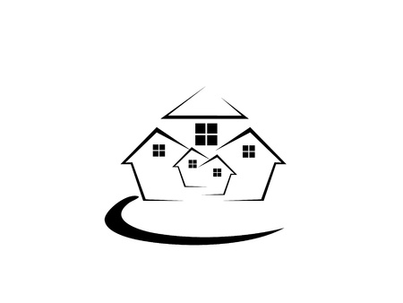 construction logo: Houses Logo