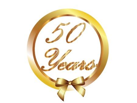 anniversaire mariage: 50 ans en or