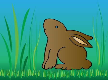 Bunnt or Rabbit background Vector