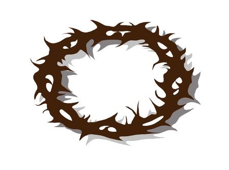 corona de espinas: Corona de Jesús