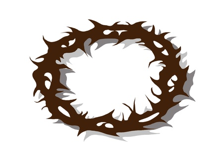 Crown of Jesus Vector