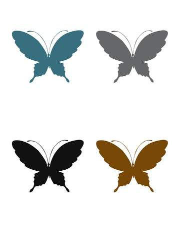 terra: Terra colors butterflies Illustration