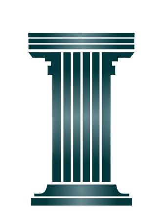 colonna romana: Edificio storico greco antico a colonne