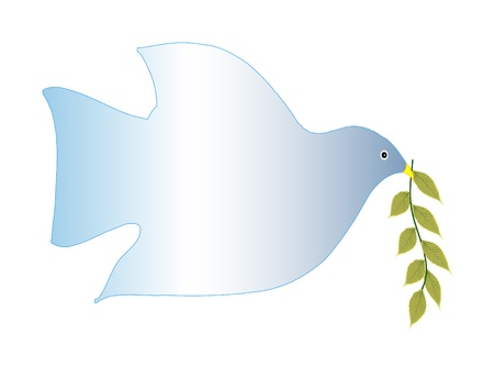 good: Bird with leaves