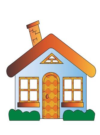 House Cartoon Vectores