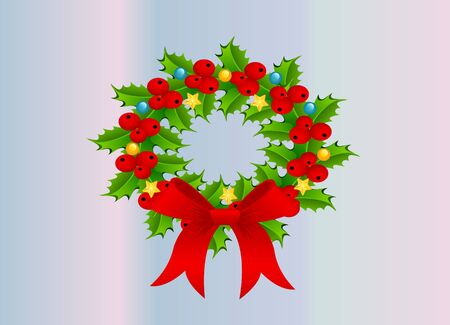 Wreath for Christmas Vector
