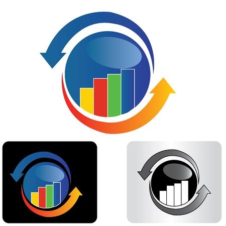 Travel financial logo design