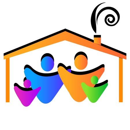 Family home Stock Vector - 11195659