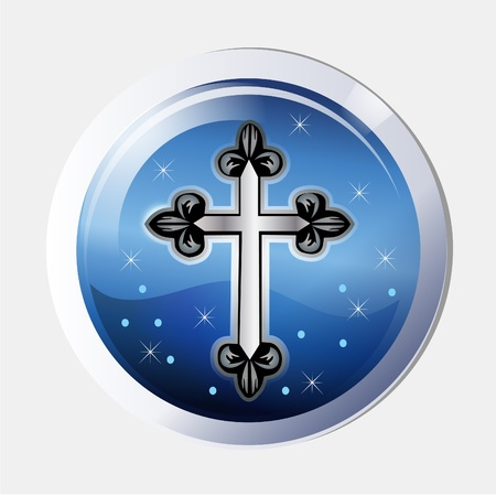 truthfulness: Cross ancient icon symbol