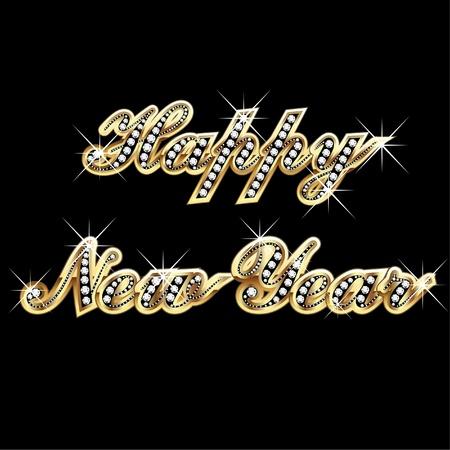 joyas de oro: Feliz año nuevo 2012