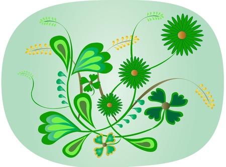 Floral Green design Vector