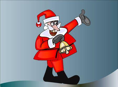 Santa claus merry christmas Stock Vector - 11295391