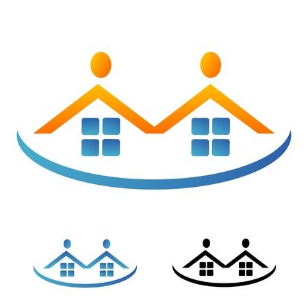 lien: Immobilier logo de l'équipe immobilier