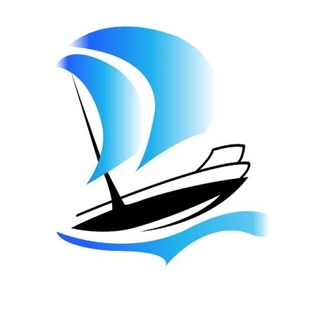 ボートのロゴ