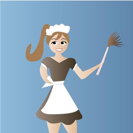 haush�lterin: Maid Reinigung Haus