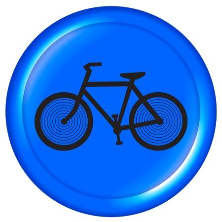 Bike icon Stock Vector - 12011016
