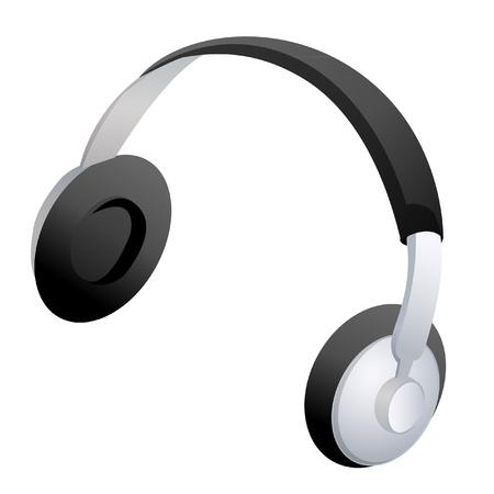 Headphones icon vector stock  Illusztráció