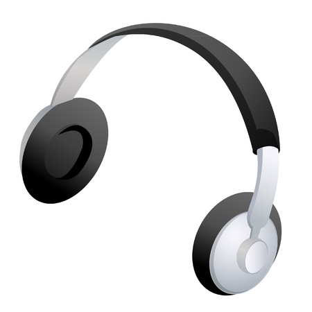 Headphones icon vector stock Stock fotó - 12011009