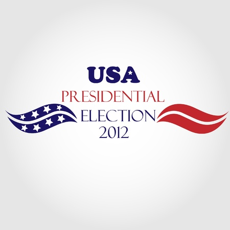 USA Presidential Election 2012  Stock Vector - 12075150