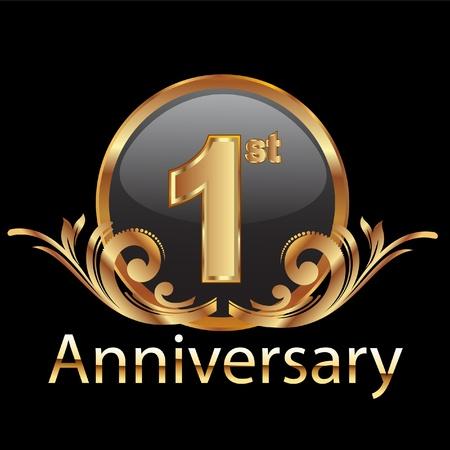 1 첫 번째 결혼 기념일 축하