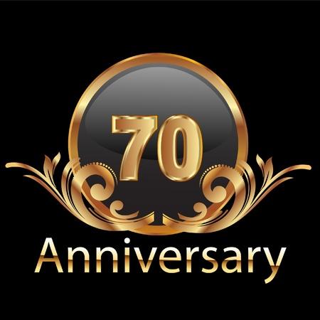honoring: 70 anniversary happy birthday