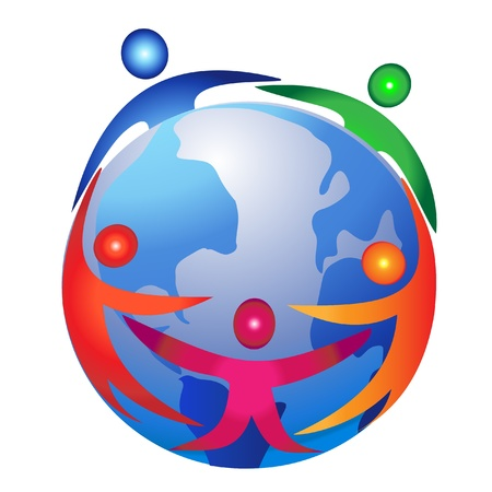 internet logo: Teamwork commerce design logo
