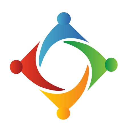 harmony united: Teamwork logo