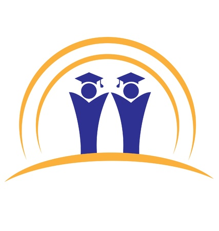 Graduates teamwork logo