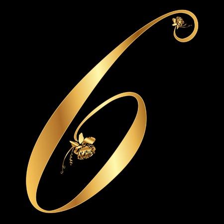 バラと黄金の数 6