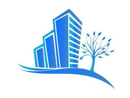 townhouses: Logotipo de bienes ra�ces