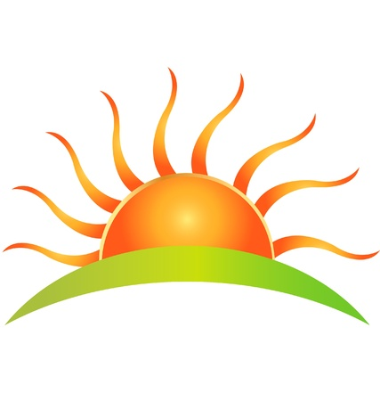 Sun logo   Stock Vector - 14063172