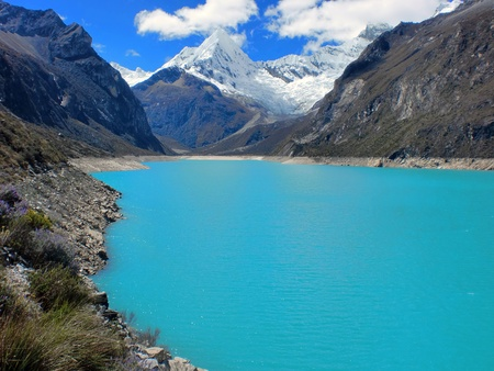 alpamayo: Peak, mountains and lake