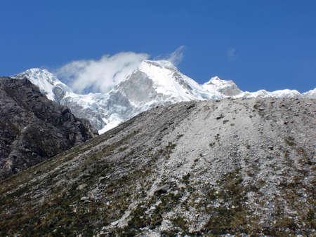 alpamayo: Ice on the mountains